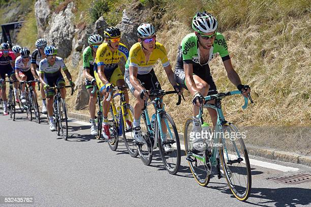 78th Tour of Swiss 2014 / Stage 8 TEN DAM Laurens / MARTIN Tony Yellow Leader Jersey / KREUZIGER Roman / Delemont Verbier 1474m / Etappe Rit Ronde...