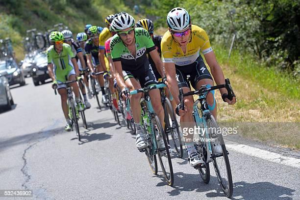 78th Tour of Swiss 2014 / Stage 9 MARTIN Tony Yellow Leader Jersey / TEN DAM Laurens / Martigny SaasFee 1807m / Etappe Rit Ronde Tim De Waele