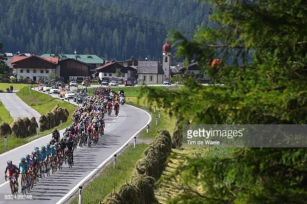 79th Tour of Swiss 2015 / Stage 5 Illustration Illustratie / Peleton Peloton / Landscape Paysage Landschap / Unterterzen - Solden 2669m / Tour de...