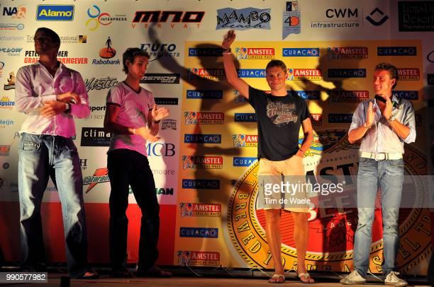 7E Amstel Curacao Raceafter Party FTe Feest Theo Bos Andy Schleck Stijn Devolder Michael Boogerd Renaat Schotte /Lions Dive Hotel Tim De Waele