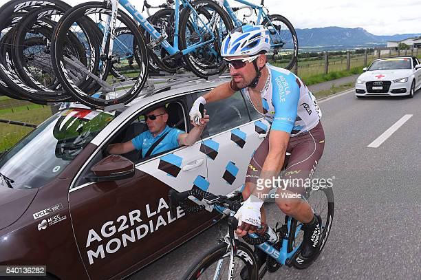 80th Tour of Swiss 2016 / Stage 4 Sebastien TURGOT / Team AG2R LA MONDIALE / Feed Zone / Rheinfelden - Champagne / TDS /