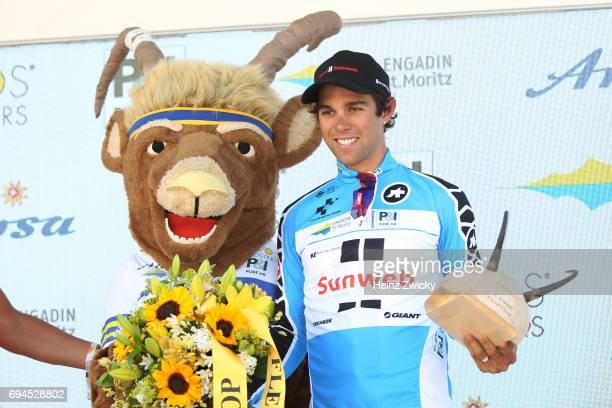 81st Tour of Switzerland 2017 / Stage 1 Podium / Michael MATTHEWS Blue Mountain Jersey/ Cham Cham / Individual Time Trial/ ITT/ TDS/