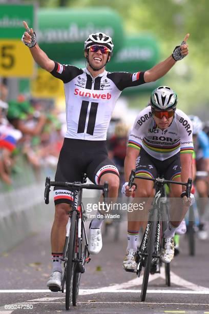 81st Tour of Switzerland 2017 / Stage 3 Arrival / Michael MATTHEWS Celebration / Peter SAGAN / Menziken Bern 560m / TDS/