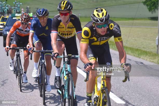 81st Tour of Switzerland 2017 / Stage 4 Antoine DUCHESNE / Lars BOOM / Larry WARBASSE / Nick VAN DER LIJKE / Bern VillarssurOllon 1327m / TDS/