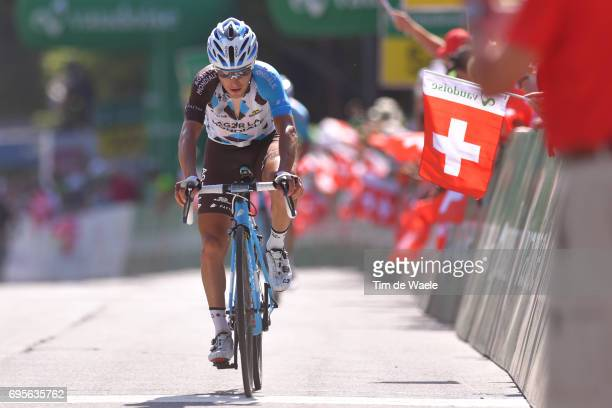 81st Tour of Switzerland 2017 / Stage 4 Arrival / Domenico POZZOVIVO / Bern VillarssurOllon 1327m / TDS/