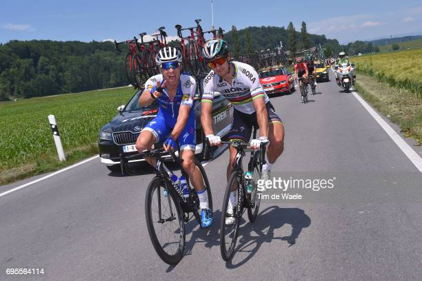 81st Tour of Switzerland 2017 / Stage 4 Peter SAGAN / Zdenek STYBAR / Bern VillarssurOllon 1327m / TDS/