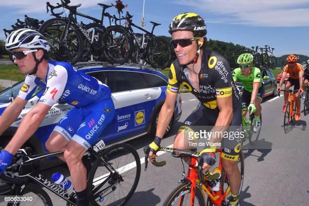 81st Tour of Switzerland 2017 / Stage 4 Sylvain CHAVANEL / Yves LAMPAERT / Bern VillarssurOllon 1327m / TDS/