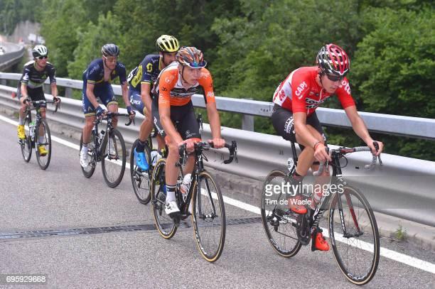 81st Tour of Switzerland 2017 / Stage 5 Jelle WALLAYS / Jesper ASSELMAN / SAM BEWLEY / Lars Petter NORDHAUG / Benjamin KING / Bex - Cevio 424m / TDS/