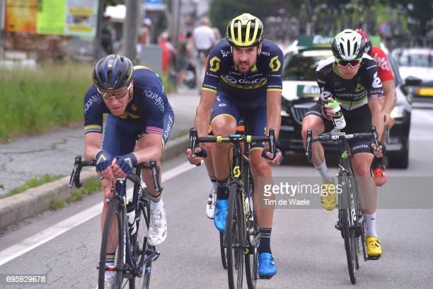 81st Tour of Switzerland 2017 / Stage 5 Lars Petter NORDHAUG / SAM BEWLEY / Benjamin KING / Bex - Cevio 424m / TDS/