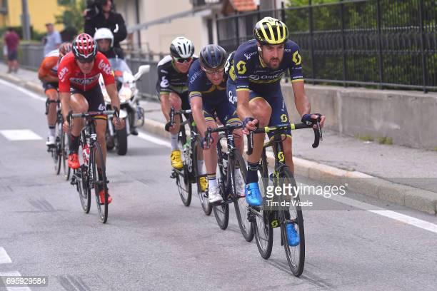 81st Tour of Switzerland 2017 / Stage 5 SAM BEWLEY / Lars Petter NORDHAUG / Benjamin KING / Jelle WALLAYS / Bex - Cevio 424m / TDS/