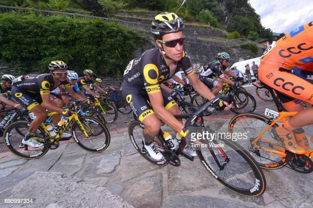 81st Tour of Switzerland 2017 / Stage 5 Sylvain CHAVANEL / Bex Cevio 424m / TDS/