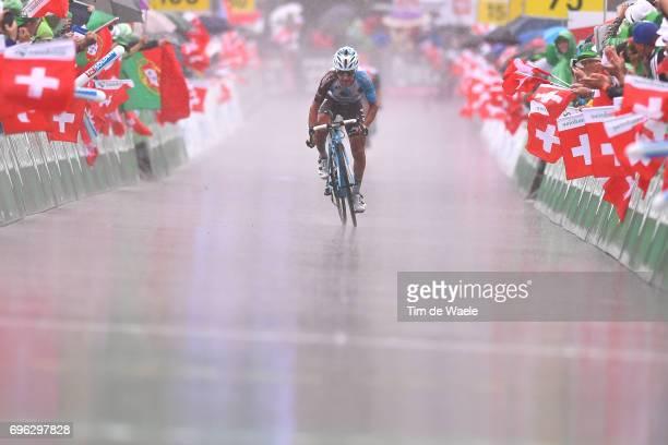 81st Tour of Switzerland 2017 / Stage 6 Arrival / Domenico POZZOVIVO / Locarno La Punt Chamuesch 1695m / TDS/