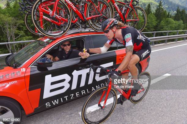 81st Tour of Switzerland 2017 / Stage 6 Daniel OSS / Injury / Feed Zone / Jackson STEWARD Sportsdirector Team BMC Racing Team / Car / Locarno La Punt...
