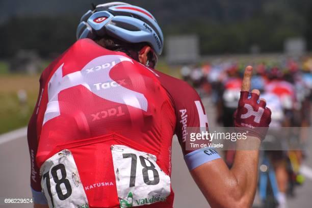 81st Tour of Switzerland 2017 / Stage 6 Rein TAARAMAE / Feed Zone / Bottle / Locarno La Punt Chamuesch 1695m / TDS/