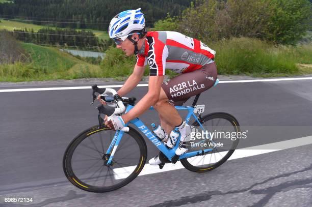 81st Tour of Switzerland 2017 / Stage 7 Mathias FRANK Red Best Swiss Rider Jersey / Zernez SoldenTiefenbachferner 2780m / TDS/