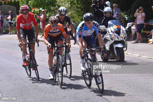 81st Tour of Switzerland 2017 / Stage 8 Lasse Norman HANSEN Blue Mountain Jersey/ Jaco VENTER / Nick VAN DER LIJKE /Jelle WALLAYS / Schaffhausen...