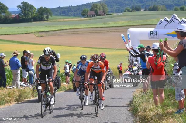 81st Tour of Switzerland 2017 / Stage 8 Lasse Norman HANSEN Blue Mountain Jersey/ Jaco VENTER / Nick VAN DER LIJKE /Jelle WALLAYS / Schaffhausen...