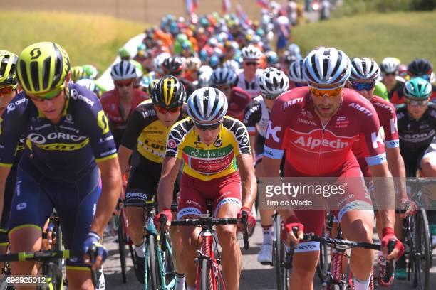 81st Tour of Switzerland 2017 / Stage 8 Simon SPILAK Yellow Leader Jersey / Marco HALLER / Schaffhausen Schaffhausen / TDS/