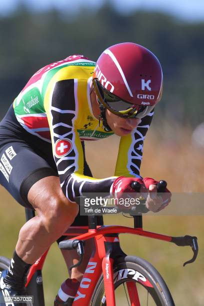 81st Tour of Switzerland 2017 / Stage 9 Simon SPILAK Yellow Leader Jersey/ Schaffhausen Schaffhausen / ITT/ Individual Time Trial/ TDS/