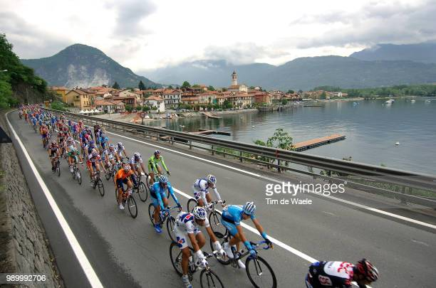 Giro DãTalia, Stage 15Illustration Illustratie, Peleton Peloton, Landscape Paysage Landschap, Lake Lac Meer Majoremergozzo - Brescia Tour Of Italy,...