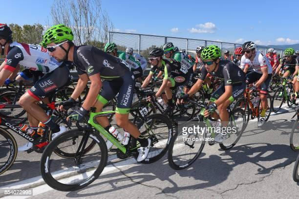 89th Giro Della Toscana 2017 / Stage 1 Guy SAGIV / Jose Manuel DIAZ GALLEGO / Peloton / Pontedera Pontedera / Memorial Alfredo Martini / GDT /