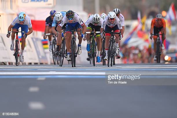 89th Road World Championships 2016 / Men Elite Arrival / Sprint / Peter SAGAN / Mark CAVENDISH / Tom BOONEN / Giacomo NIZZOLO / Michael MATTHEWS /...