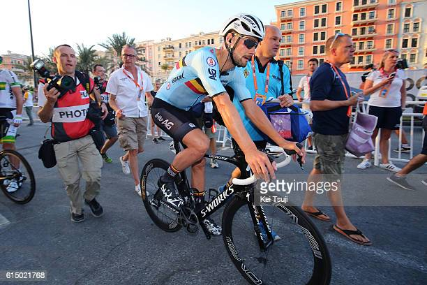 89th Road World Championships 2016 / Men Elite Arrival / Tom BOONEN Disappointment / Aspire Zone The Pearl Qatar / Men Elite / WC /