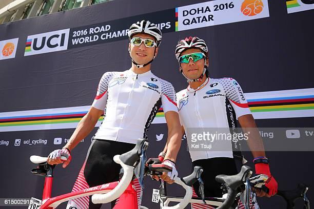 89th Road World Championships 2016 / Men Elite Start / Team JAPAN / Yukiya ARASHIRO / Fumiyuki BEPPU / Aspire Zone The Pearl Qatar / Men Elite / WC /