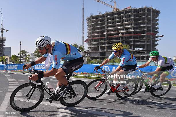 89th Road World Championships 2016 / Men Elite Tom BOONEN / Jurgen ROELANDTS / Mark RENSHAW / Aspire Zone The Pearl Qatar / Men Elite / WC /