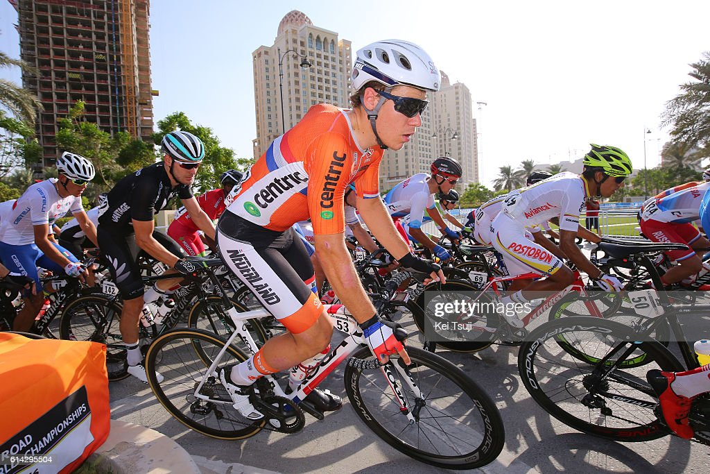 Cycling: 89th Road World Championships 2016 / Men U23 Road Race : Foto di attualità
