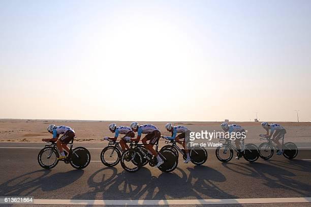 89th Road World Championships 2016 / TTT Men Elite Team AG2R LA MONDIALE / Gediminas BAGDONAS / Ben GASTAUER / Alexis GOUGEARD / Patrick GRETSCH /...