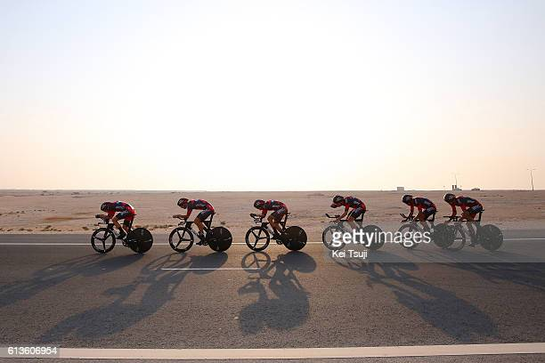 89th Road World Championships 2016 / TTT Men Elite Team BMC RACING TEAM / Rohan DENNIS / Stefan KUENG / Daniel OSS / Taylor PHINNEY / Manuel...