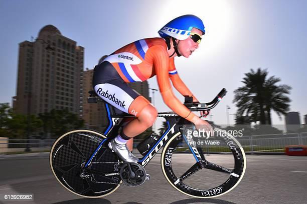 89th Road World Championships 2016 / Women Elite ITT Annemiek VAN VLEUTEN / The Pearl Qatar The Pearl Qatar / Individual Time Trial / WC /