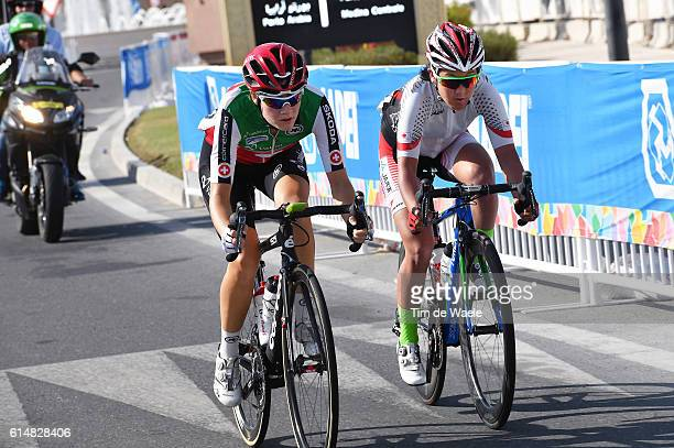 89th Road World Championships 2016 / Women Elite Nicole HANSELMANN / Eri YONAMINE / Qatar Foundation The Pearl Qatar / Women Elite / WC /