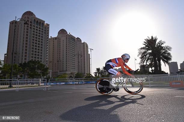 89th Road World Championships 2016 / Women Ellen VAN DIJK / The Pearl Qatar The Pearl Qatar / Individual Time Trial / WC /