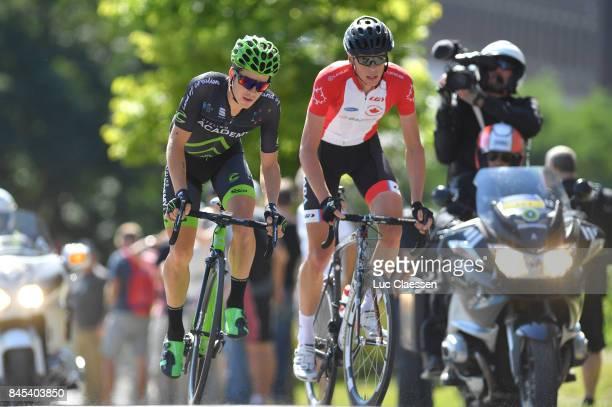 8th Grand Prix Cycliste de Montreal 2017 Matteo DALCIN / Benjamin PERRY / Montreal Montreal / Grand Prix Montreal /