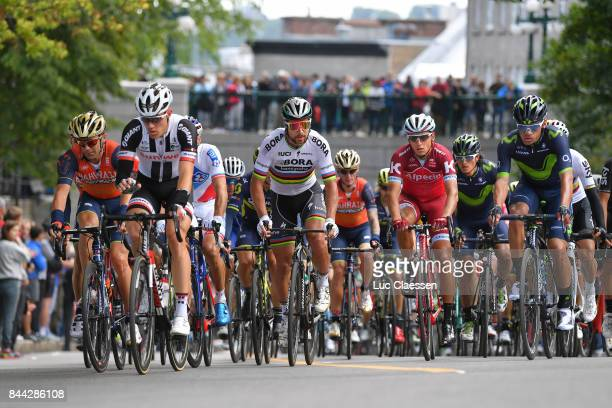 8th Grand Prix Cycliste de Quebec 2017 Peter AGAN / Diego ULISSI / Simon SPILAK / Peloton / Quebec Quebec / Grand Prix Quebec /