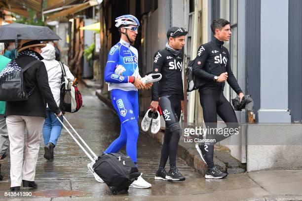 8th Grand Prix Cycliste de Quebec Monteral 2017 / Training Philip DEIGNAN / Kenny ELLISONDE / Training / Grand Prix Quebec Monteral /