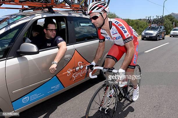 8th Tour de San Luis 2014 / Stage 1 VICIOSO Angel / COZZI Claudio Sportsdirector / San Luis Villa Mercedes / Etap Rit Ronde Tim De Waele
