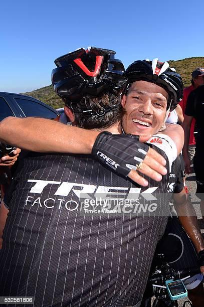 8th Tour de San Luis 2014 / Stage 2 Podium / ARREDONDO Julian / HONDO Danilo / Celebration Joie Vreugde / La Punta Mirador De El Potrero 1247m / Etap...