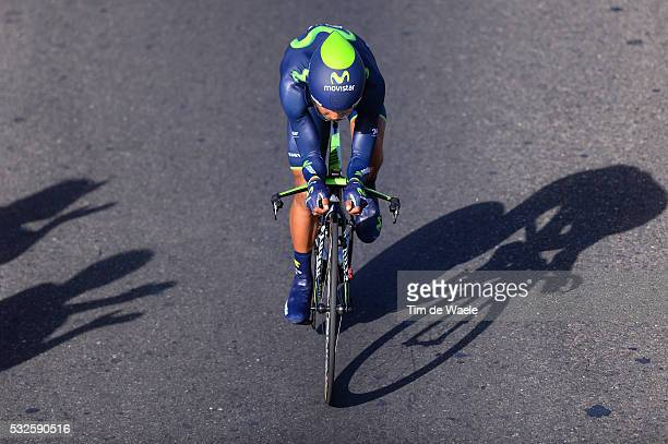 8th Tour de San Luis 2014 / Stage 5 QUINTANA Nairo / Illustration Illustratie Shadow Hombre Schaduw Fans Supporters Public Publiek Spectators / San...