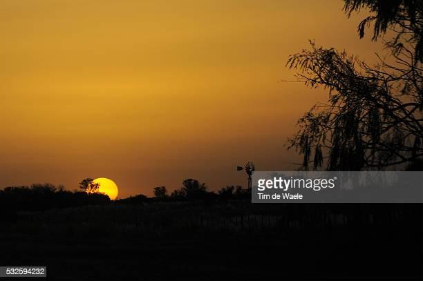 8th Tour de San Luis 2014 / Stage 6 Illustration Illustratie / Sunset Coucher Du Soleil Zonsondergang Landscape Paysage Landschap / Las Chacras Merlo...