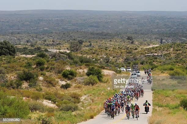 8th Tour de San Luis 2014 / Stage 6 Illustration Illustratie / Peleton Peloton / Landscape Paysage Landschap / Las Chacras - Merlo Mirador del Sol...
