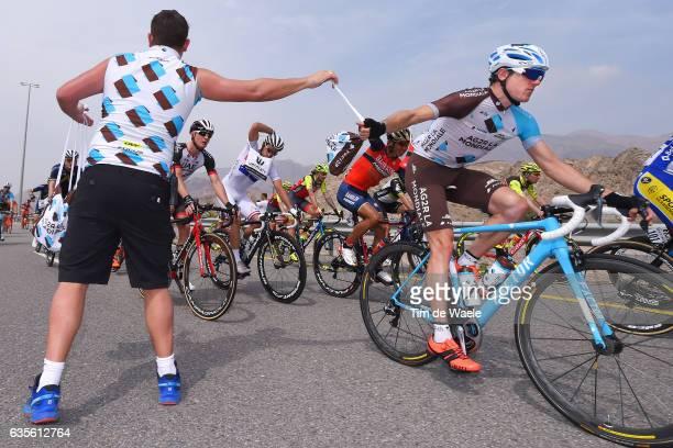 8th Tour of Oman 2017 / Stage 3 Axel DOMONT / Feed Zone / Team AG2R / Soigneur / Sultan Qaboos University - Quriyat 250m /