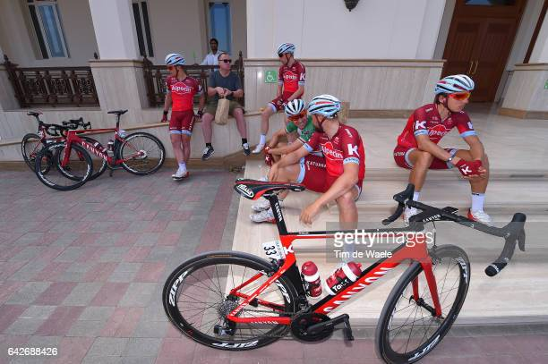 8th Tour of Oman 2017 / Stage 5 Marco HALLER / Alexander KRISTOFF Green Points Jersey / Viacheslav KUZNETSOV / Jenthe BIERMANS / Michael MORKOV /...