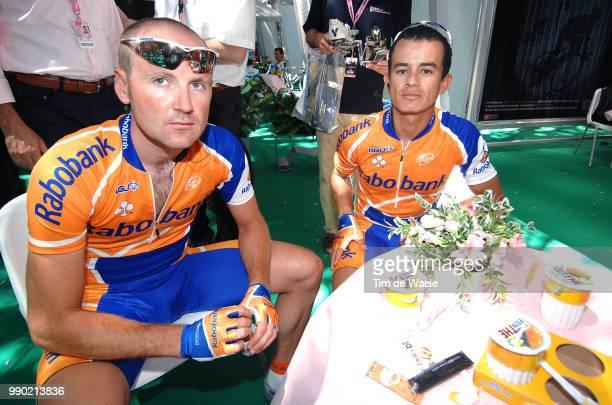 Giro D'Italia, Stage 2 Brown Graeme , Ardila Cano Maurice Alberto , Tempio Pausania - Bosa Tour Italy, Ronde Van Italie, Rit Etape, Uci Pro Tour, Tim...