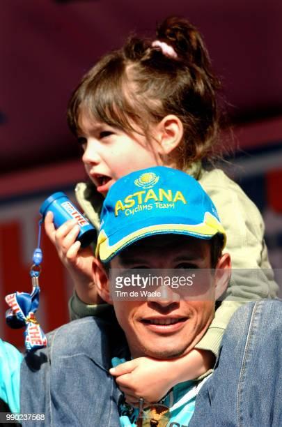 90E Giro D'Italia Stage 20Podium Savoldelli Paolo Marika Bardolino Verona Time Trial Contre La Montre Tijdrit /Tour Italy Ronde Van Italie Rit Etape...