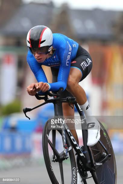 90th Road World Championships 2017 / ITT Men Junior Antonio PUPPIO / Bergen Bergen / Individual Time Trial / ITT / Bergen / RWC /