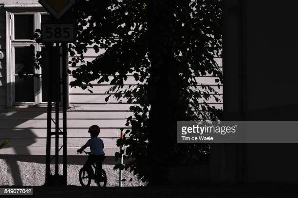 90th Road World Championships 2017 / ITT Men Under 23 Silhouet / Bike / Children / Bergen Bergen / Individual Time Trial / ITT / Bergen / RWC /