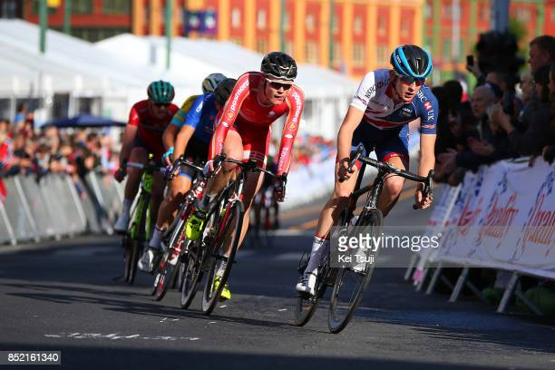 90th Road World Championships 2017 / Men Junior Road Race Mark DONOVAN / Julius JOHANSEN / Bergen Bergen / RR / Bergen / RWC /